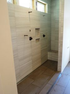 Custom Shower | Hampton Flooring Center