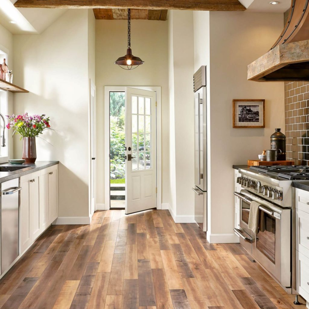 Should You Install Hardwood In Your Kitchen?   Hampton Flooring Center
